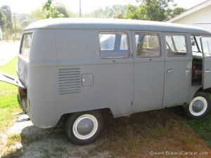1965 Lenoir bus as purchased
