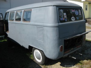 volkswagen camper long side