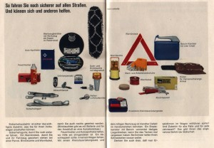 1966 brochure Volkswagen accessories