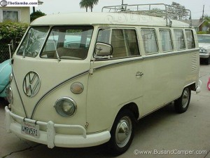 1967 13 window deluxe bus - vw