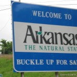 State line into Arkansas