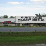 Guns and Ammo shop - only in America