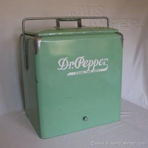 Dr Pepper Cooler vintage progress