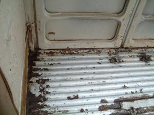 VW Camper cargo floor
