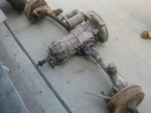 VW Bus gearbox