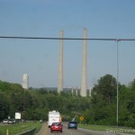 Tall cooling towers near Nashville