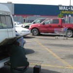 Walmart supercenter car battery to the rescue