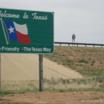 Crossing the state line into Texas yeehaw
