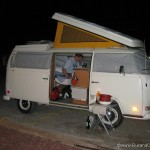 Westy pop top up and bed ready