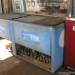 Vintage Pepsi Fridge at Hackberry stores