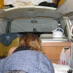 Cosy in our VW Camper