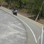 Being chased by a string of motorcyles on the Dragon