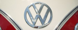 Perhaps the largest logo used in VW's history