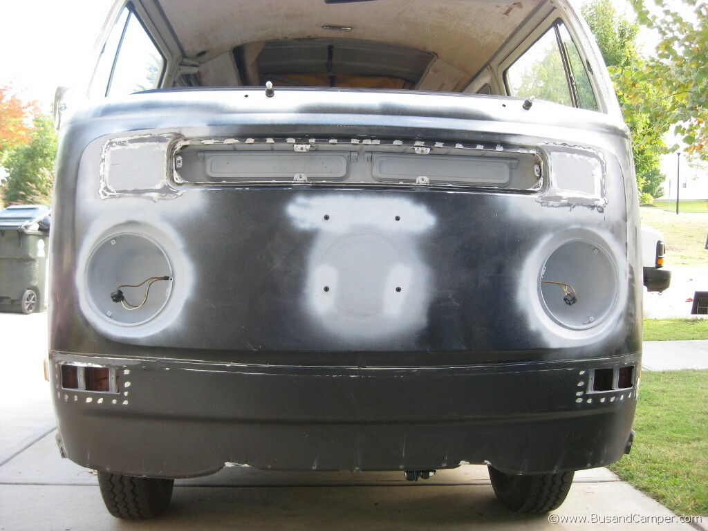 Part 5 Lower Front Panel Valence Goes On And Paint Bus
