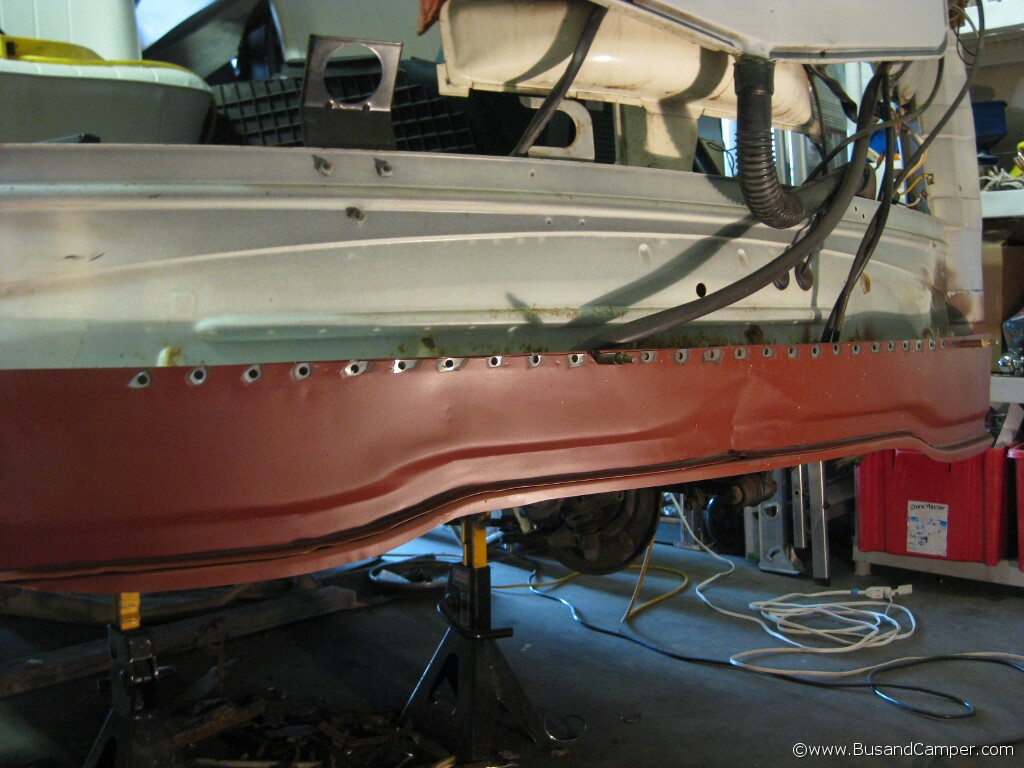 Guide To Replacing Lower Inner Nose Panel 71 Bus Bus And
