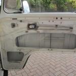 Waterproof sheet glued in place on our VW Campervan