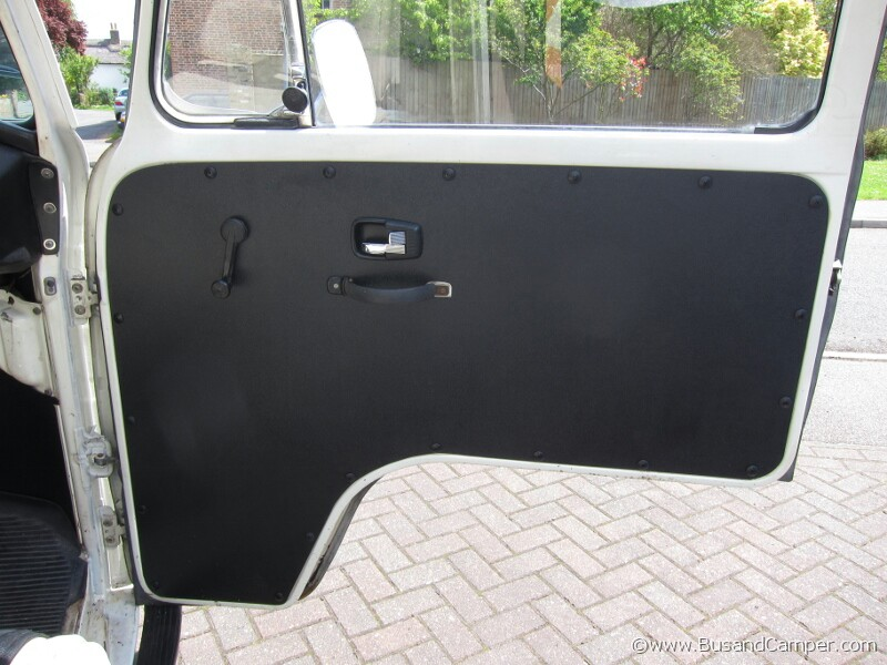 replacement door cards on our Volkswagen Bus . & VW Bay Window Door card replacement and restoration | Bus and Camper