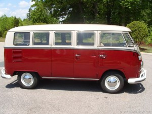 VW Camper Cargo door side