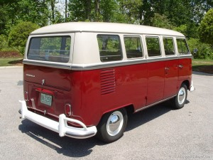 1967 Deluxe VW Camper rear quarter