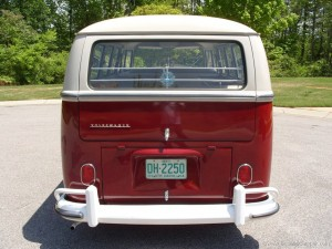 Camper back end correct bumper