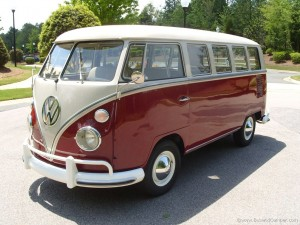 VW Camper front left side picture