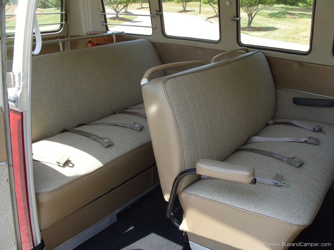 Rear Seat Deluxe Campervan 67 Middle Seat