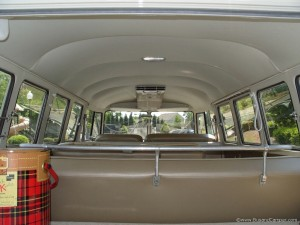 VW Campervan rear hatch headliner