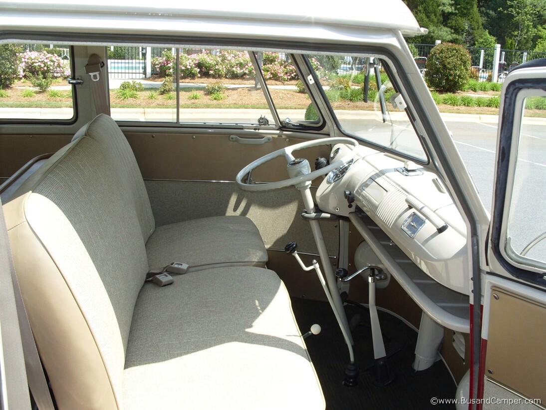 VW Camper Passenger Seat Bench Model Deluxe Bus