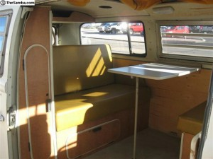 Wonderful Westfalia camping interior to this Van