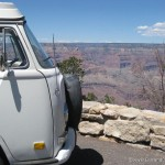 VW Campervan meet the Grand Canyon