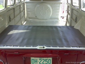 Heavy sound absorber luggage area VW Camper