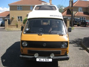 early water cooled Volkswagen T25