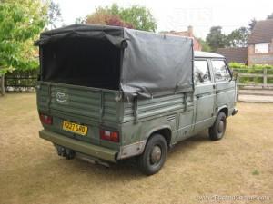 Vw Doka T25 Army