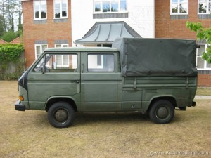 German Army Bus