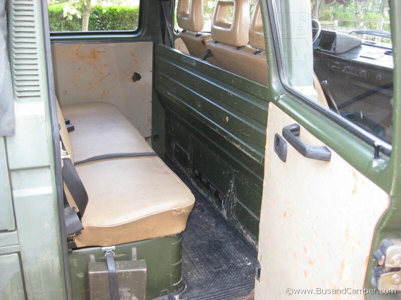 Volkswagen T25 Doppelkabine Doka Versatility Bus And Camper