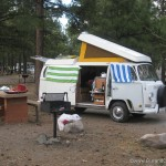 Flagstaff KOA and our Westfalia