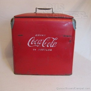 coke cooler vintage old coca cola