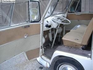 Lotus white front seat vw camper
