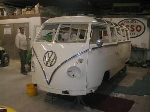 mid restoration front nose deluxe campervan