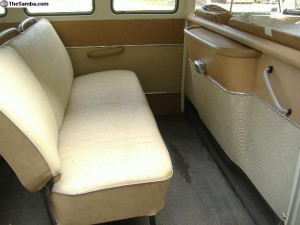 original camper middle seat