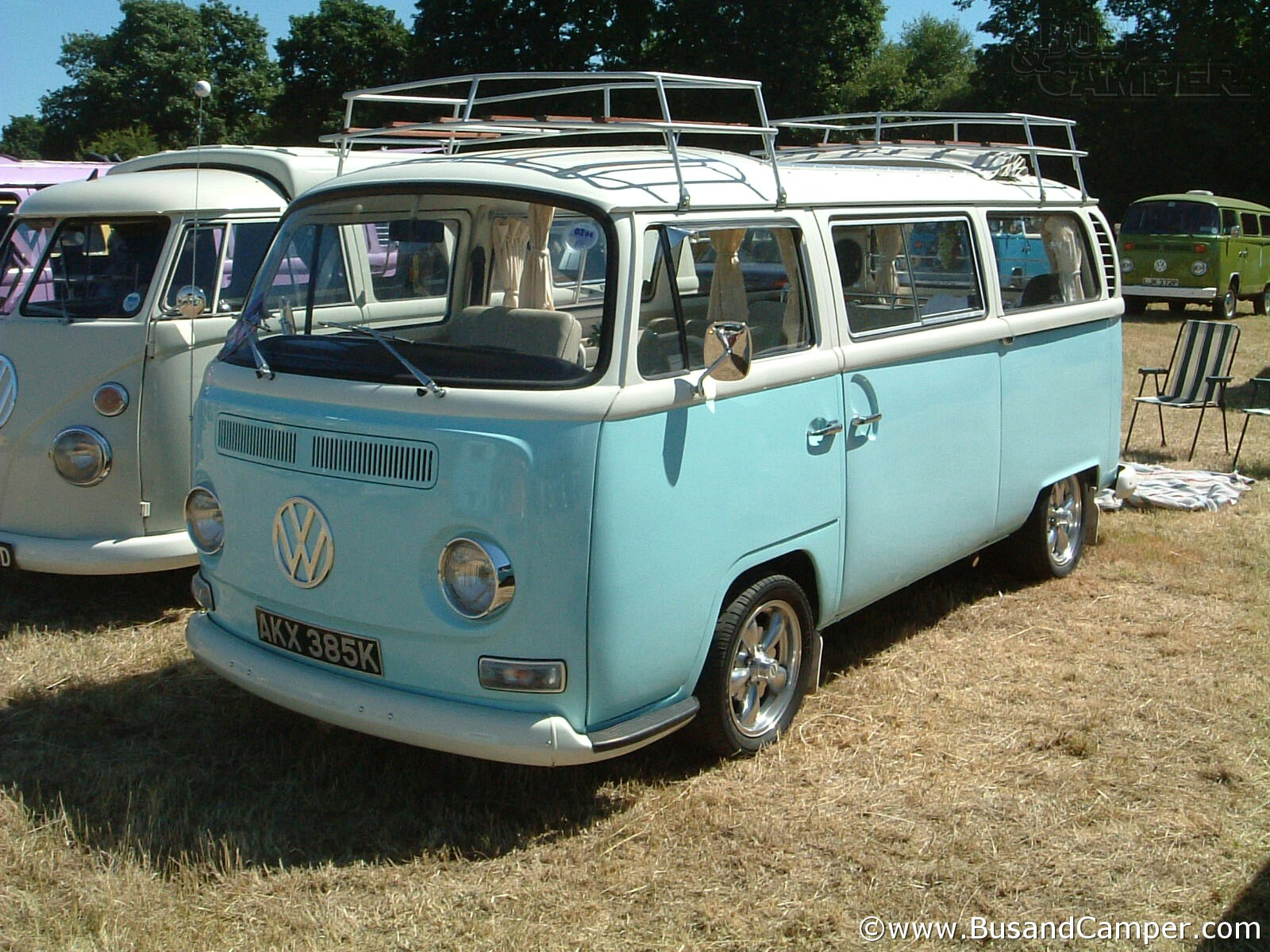 Bay Camper baby blue