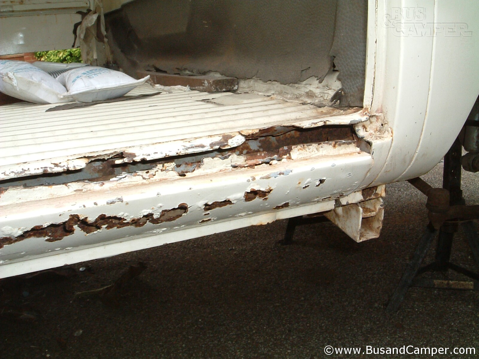 Cargo Floor Rust