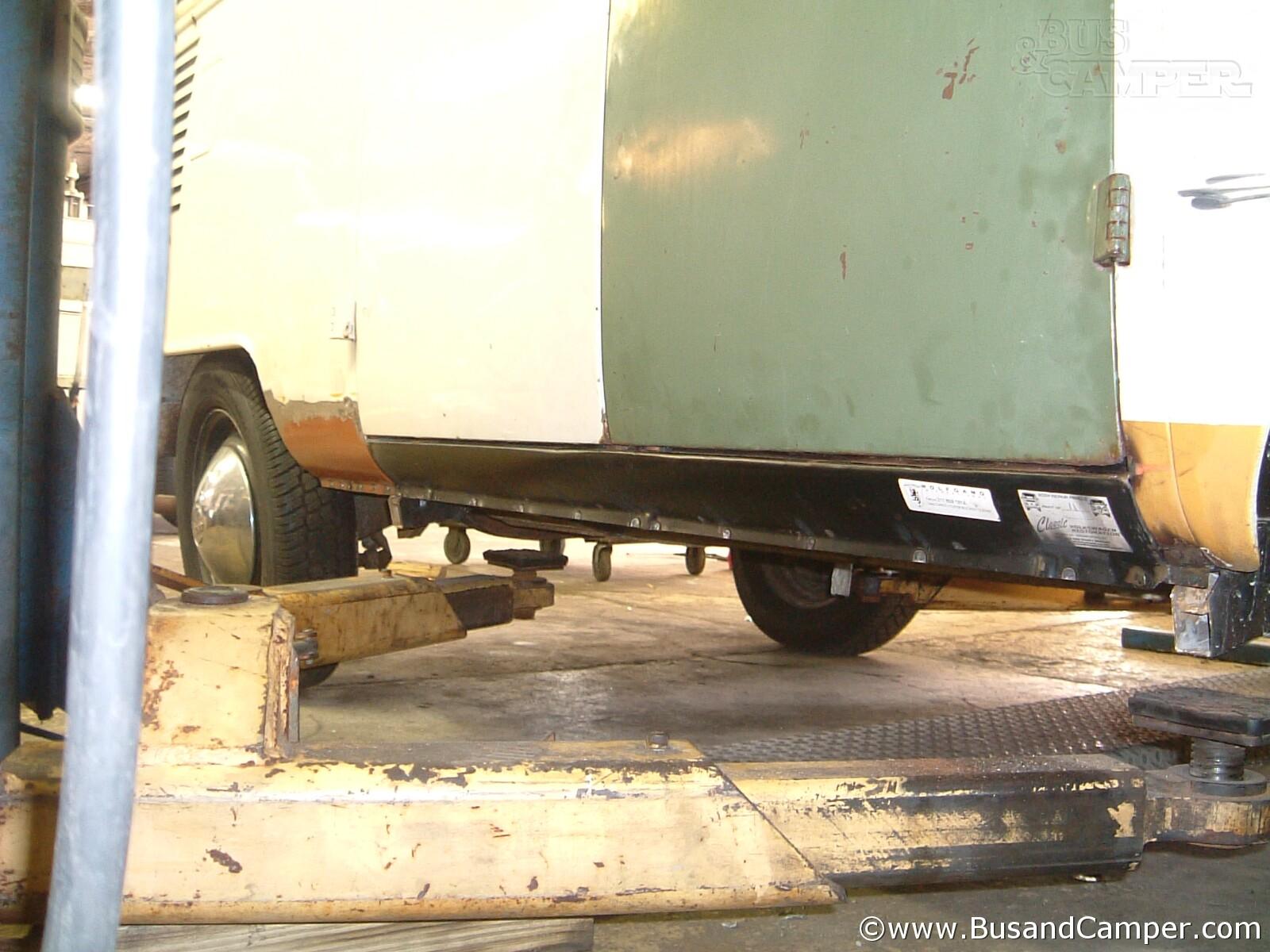 Cargo Door Rocker Repair