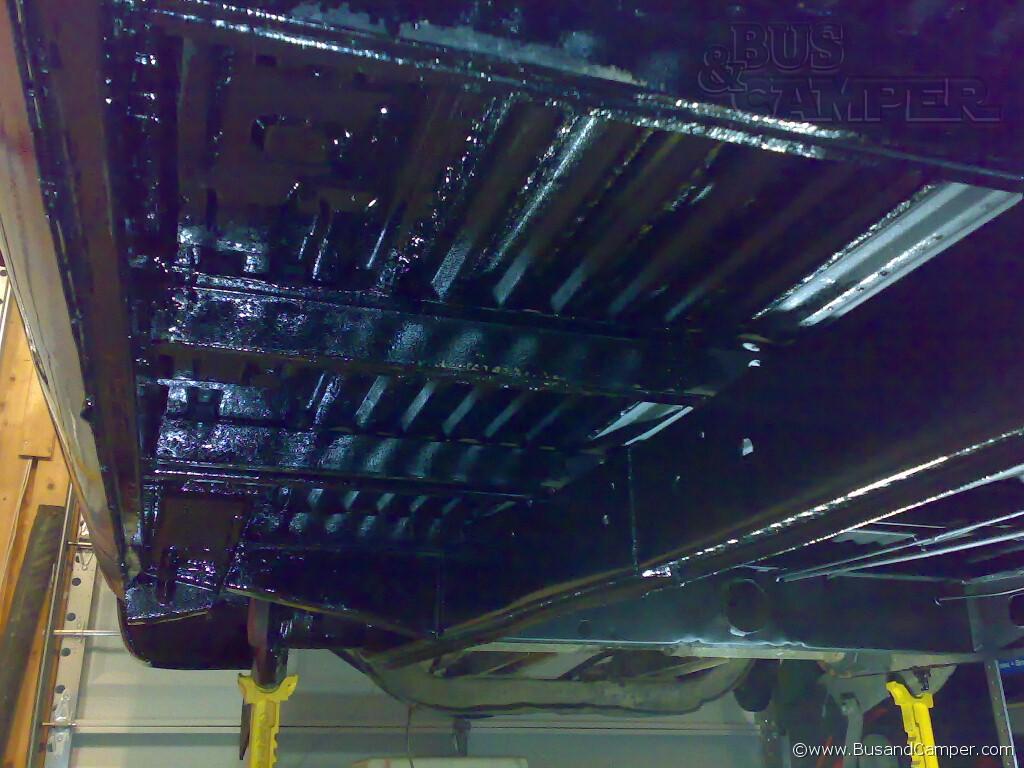 67 cargo floor restored