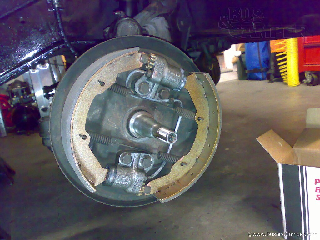 Front brakes
