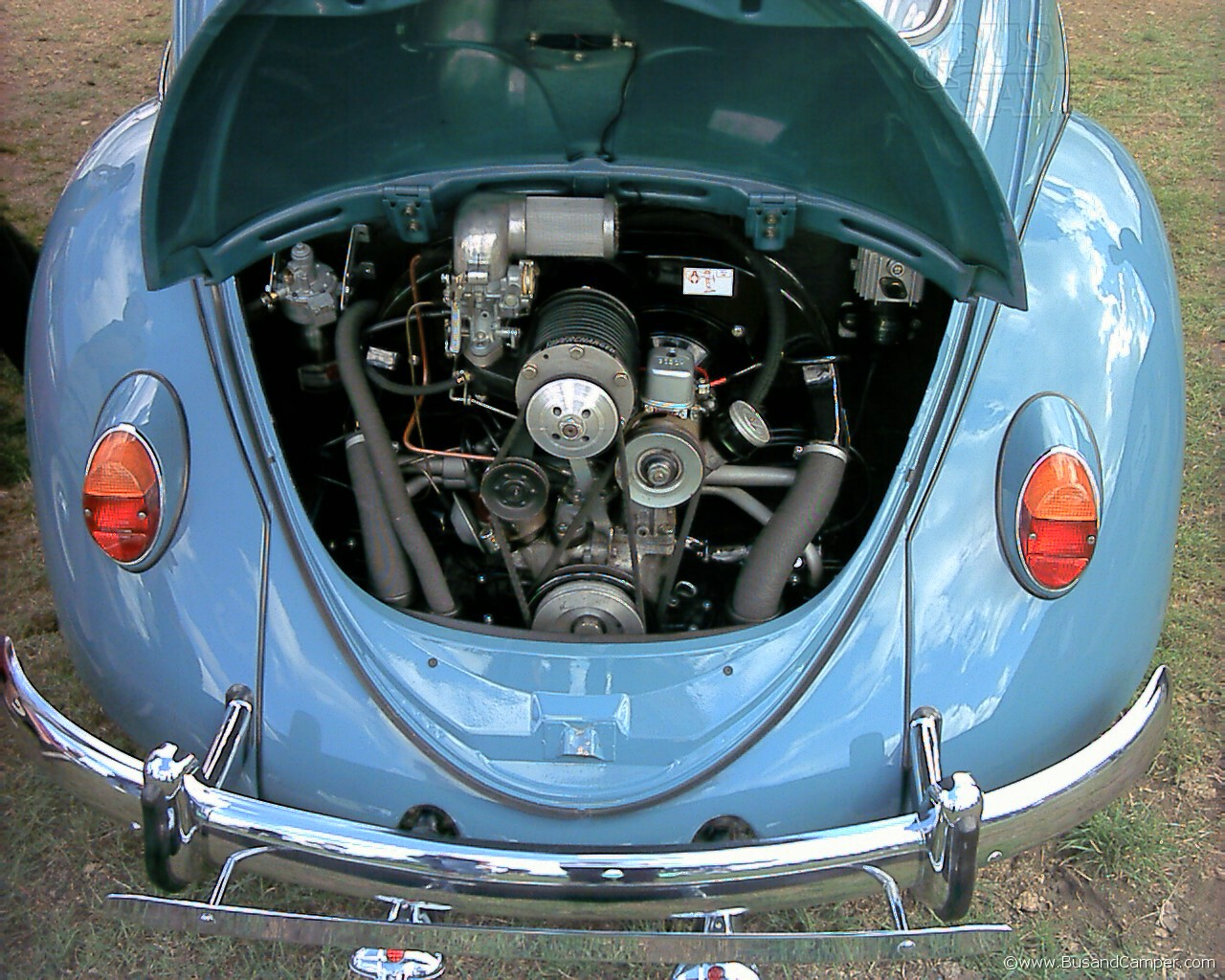 judson supercharger in a beetle