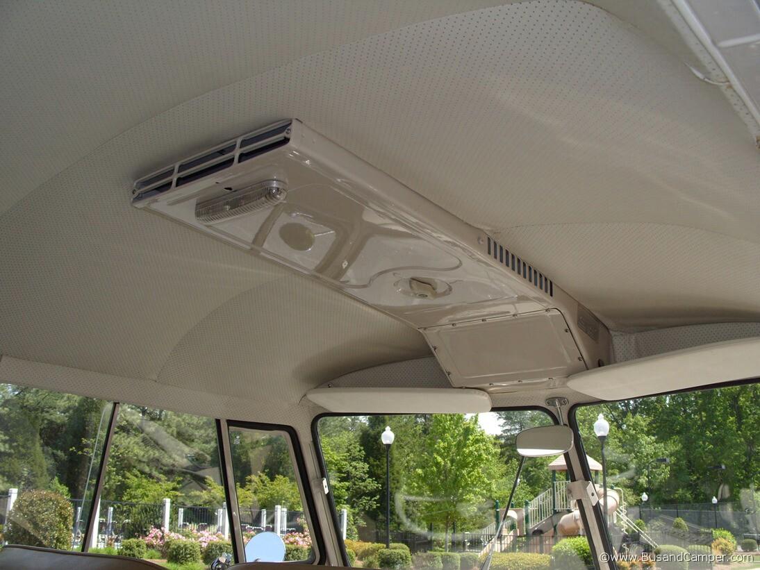 Camper headliner airbox