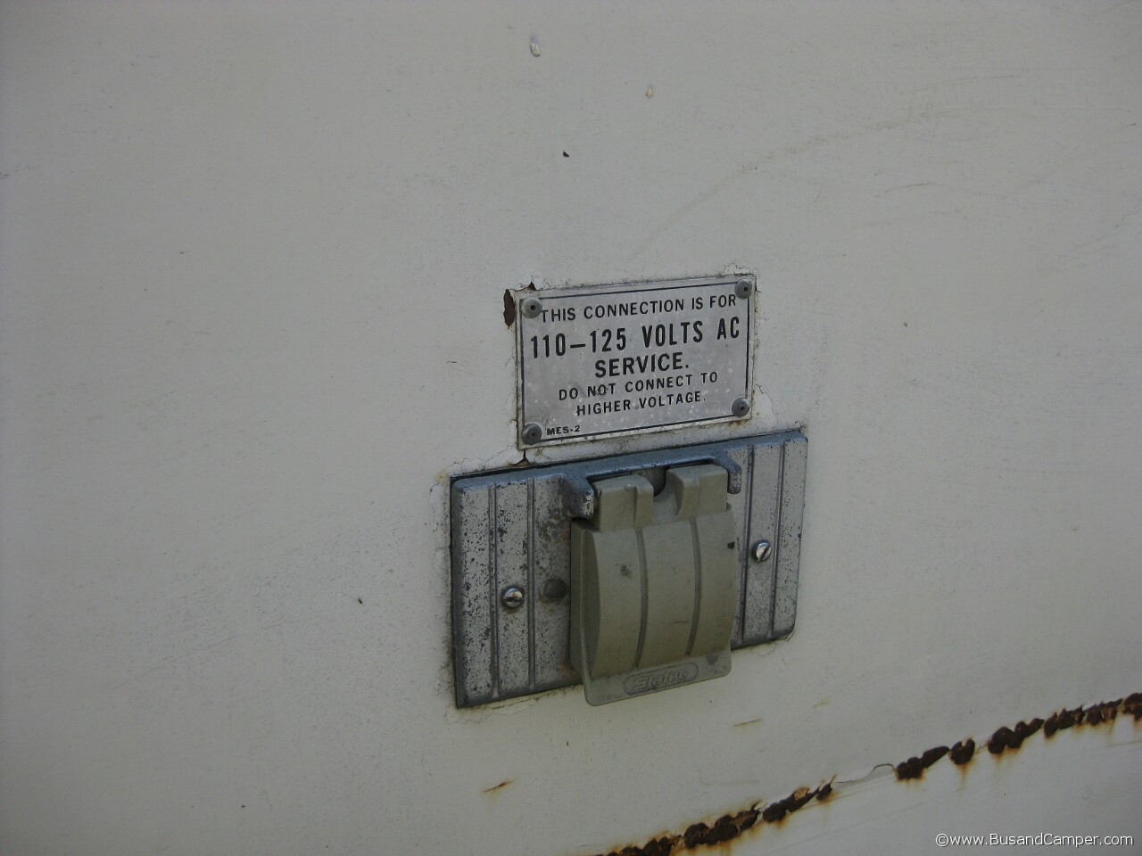 Earlybay voltage warning 17