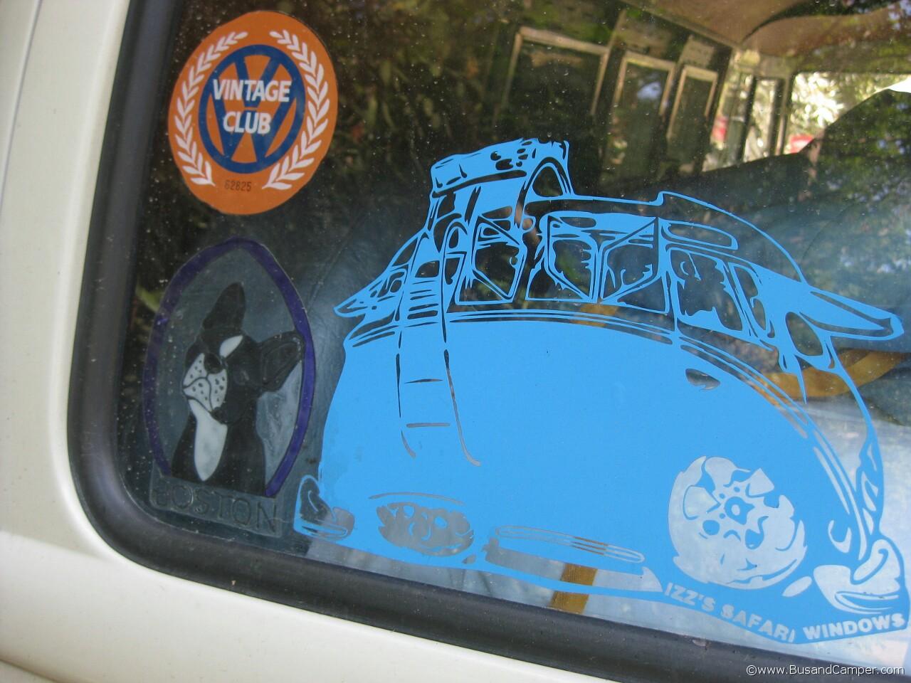 Vintage VW Club sticker 37