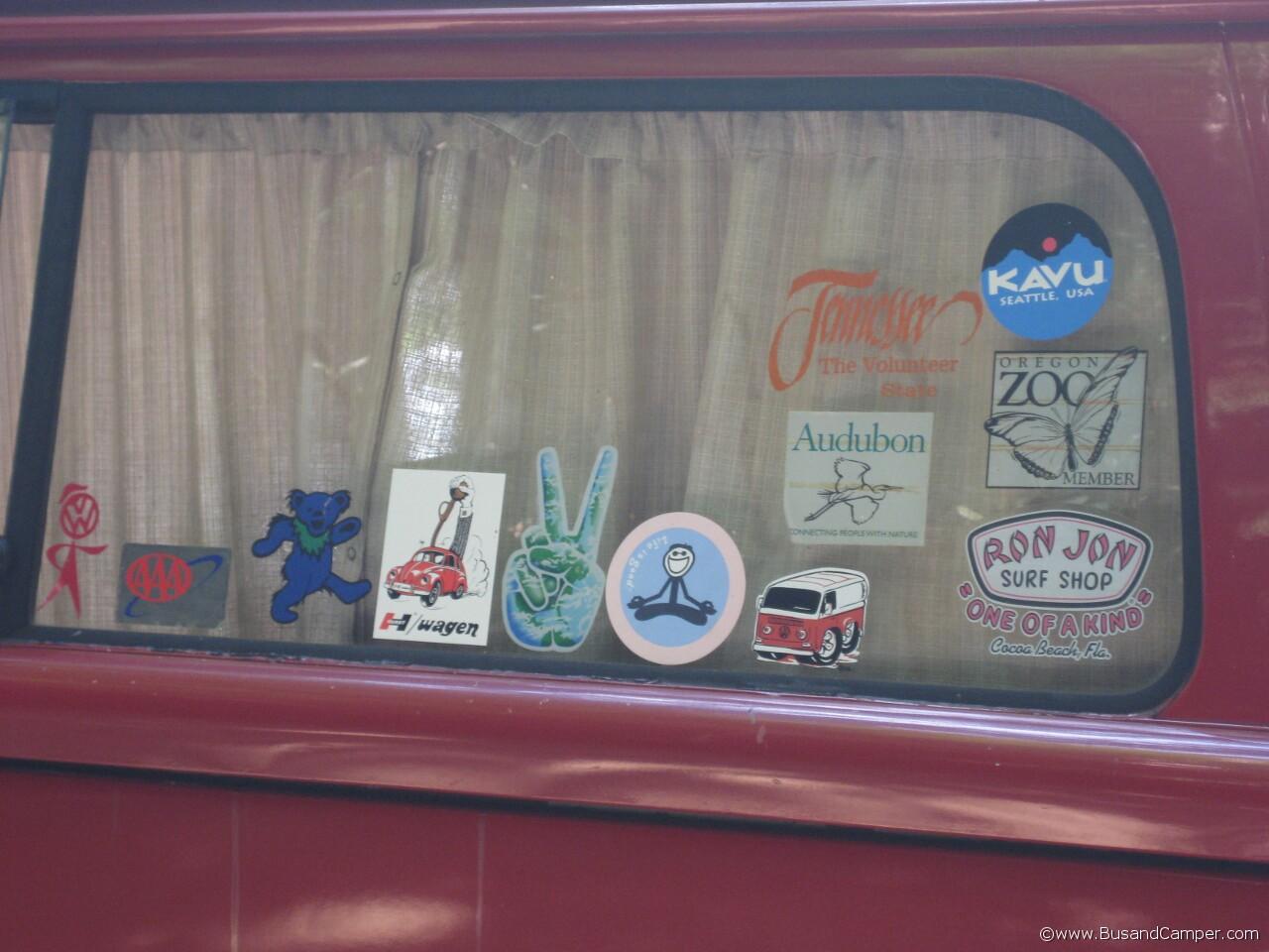 Ron Jon Surf Shop stickers 31